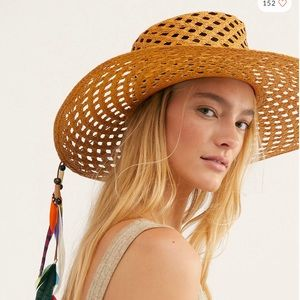 ISO! Free People straw hat
